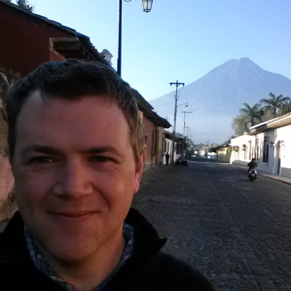Tom Gerend in Antigua